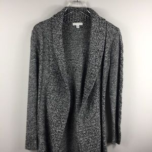 New York & Company chunky gray cardigan sweater. M